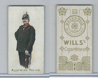 W62-421 Wills, Police of the World, 1910, Austrian Police