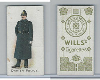 W62-421 Wills, Police of the World, 1910, Danish Police