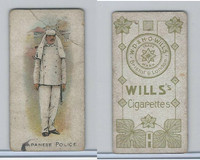 W62-421 Wills, Police of the World, 1910, Japanese Police