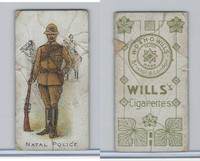 W62-421 Wills, Police of the World, 1910, Natal Police