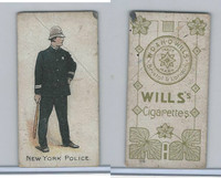 W62-421 Wills, Police of the World, 1910, New York Police