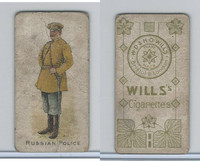 W62-421 Wills, Police of the World, 1910, Russian Police