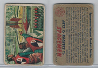 1951 Bowman, Jets, Rockets, Spacemen, #1 Spacemen Inspect Rocket Center
