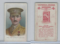 W62-371 Wills, Victorian Cross Heroes, 1915, #24 Captain T. Wright