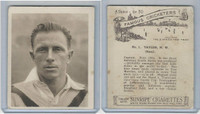 H46-54 Hill Tobacco, Famous Cricketers, 1925, #1 HW Taylot, Natal