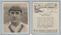 H46-54 Hill Tobacco, Famous Cricketers, 1925, #8 P.A.M. Hands