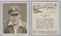 H46-54 Hill Tobacco, Famous Cricketers, 1925, #30 T.E. Cook, Sussex