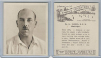 H46-54 Hill Tobacco, Famous Cricketers, 1925, #31 N.V.H. Riches, Glamorgan