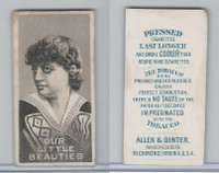 N57 Allen & Ginter, Our Little Beauties, 1890, (A)