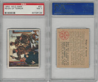 1950 Bowman, Wild Man, #21 Reign Of Terror, PSA 7 NM