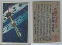 1951 Bowman, Jets, Rockets, Spacemen, #11 Dodging Meteor Showers