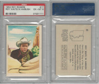 F278-19 Post Cereals, Roy Rogers Pop-Out, 1953, #17 Roy Waits, PSA 6 EXMT