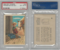 F278-19 Post Cereals, Roy Rogers Pop-Out, 1953, #19 Trigger, PSA 6 EXMT