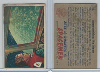 1951 Bowman, Jets, Rockets, Spacemen, #13 Approaching The Moon