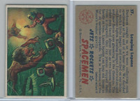 1951 Bowman, Jets, Rockets, Spacemen, #17 Leaping Lepons