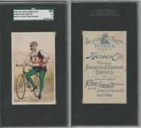 N100 Duke, Bicycle & Trick Riders, 1890, Pedal Mount, SGC 60 EX