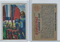 1951 Bowman, Jets, Rockets, Spacemen, #27 Detained By Martians