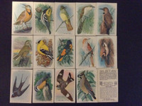 1938 Church & Dwight, Useful Birds of America Series 10, Set 15 Cards, WMX