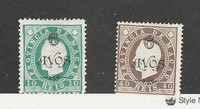 Macao - Portugal, Postage Stamp, #111-112 Mint Hinged, 1902, JFZ