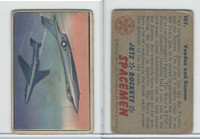 1951 Bowman, Jets, Rockets, Spacemen, #107 Voodoo And Demon