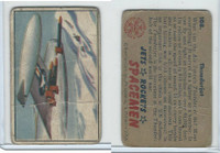 1951 Bowman, Jets, Rockets, Spacemen, #108 Thunderjet