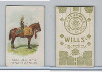 W62-410 Wills, Drum Horses, 1909, 4th Queen's Own Hussars (Trim)