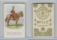 W62-410 Wills, Drum Horses, 1909, 9th Queen's Royal Lancers (Trim)
