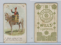 W62-410 Wills, Drum Horses, 1909, 12th Prince of Wales Royal Lancers