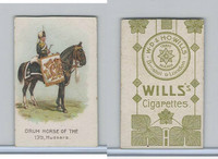 W62-410 Wills, Drum Horses, 1909, 13th Hussars (Trim)