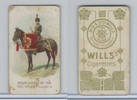 W62-410 Wills, Drum Horses, 1909, 15th King's Hussars