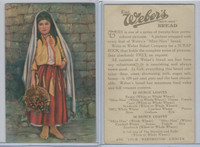 D23-1 Weber Bread, Children Of Nations, 1930, Mexico