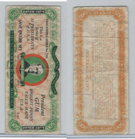 R118 Dietz, Presidents Play Bucks, 1937, Calvin Coolidge, $500