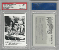 1964 Leaf, The Munsters, #31 Herman, Stop Experimenting, PSA 8 NMMT