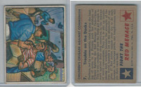 1951 Bowman, Red Menace, #7 Trouble On The Docks