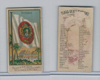N10 Allen & Ginter, Flags of all Nations, 1890, Burmah