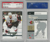 2005 Fleer Ultra Hockey, #134 Jason Spezza, Senators, PSA 10 Gem