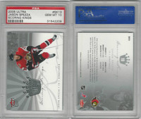2005 Fleer Ultra Hockey, #SK13 Jason Spezza, Senators, PSA 10 Gem