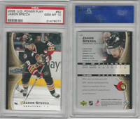 2005 Upper Deck Power Hockey, #62 Jason Spezza, Senators, PSA 10 Gem