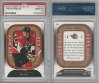 2006 Fleer Total-O Hockey, #O18 Jason Spezza, Senators, PSA 10 Gem