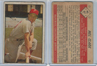 1953 Bowman Color Baseball, #67 Mel Clark, Phillies, WMX
