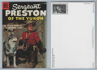 Postcard, Canada, Dell, Sergeant Preston of the Yukon, 1957 Vol 1