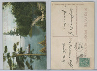 Postcard, Canada, Lake St. Joseph, Muskoka, Grand Trunk Railway, 1913