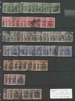 Allenstein - Germany, Postage Stamp, #1//8 Lot Used, 1920 (p) Nice Cancels