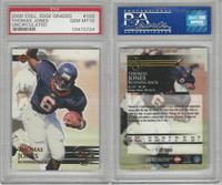 2000 Collectors Edge Football, #103 Thomas Jones, Virginia, PSA 10 Gem