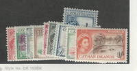Cayman Islands, Postage Stamp, #135-145 Mint Hinged, 1953-59