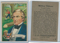 1952 Bowman, U.S. Presidents, #16 Millard Fillmore