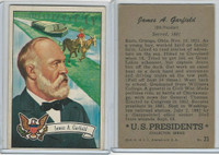 1952 Bowman, U.S. Presidents, #23 James A. Garfield