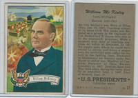1952 Bowman, U.S. Presidents, #27 William Mckinley