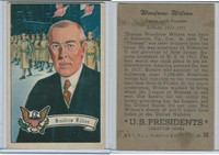 1952 Bowman, U.S. Presidents, #30 Woodrow Wilson