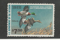 United States, Postage Stamp, #RW47 Mint Hinged, 1980 Duck Hunting